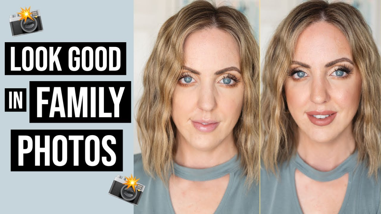 MAKEUP TIPS FOR BEGINNERS TO LOOK GOOD IN FAMILY PHOTOS! Makeup for  Photography