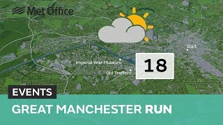 Great Manchester Run - The weather looks sunny and warm