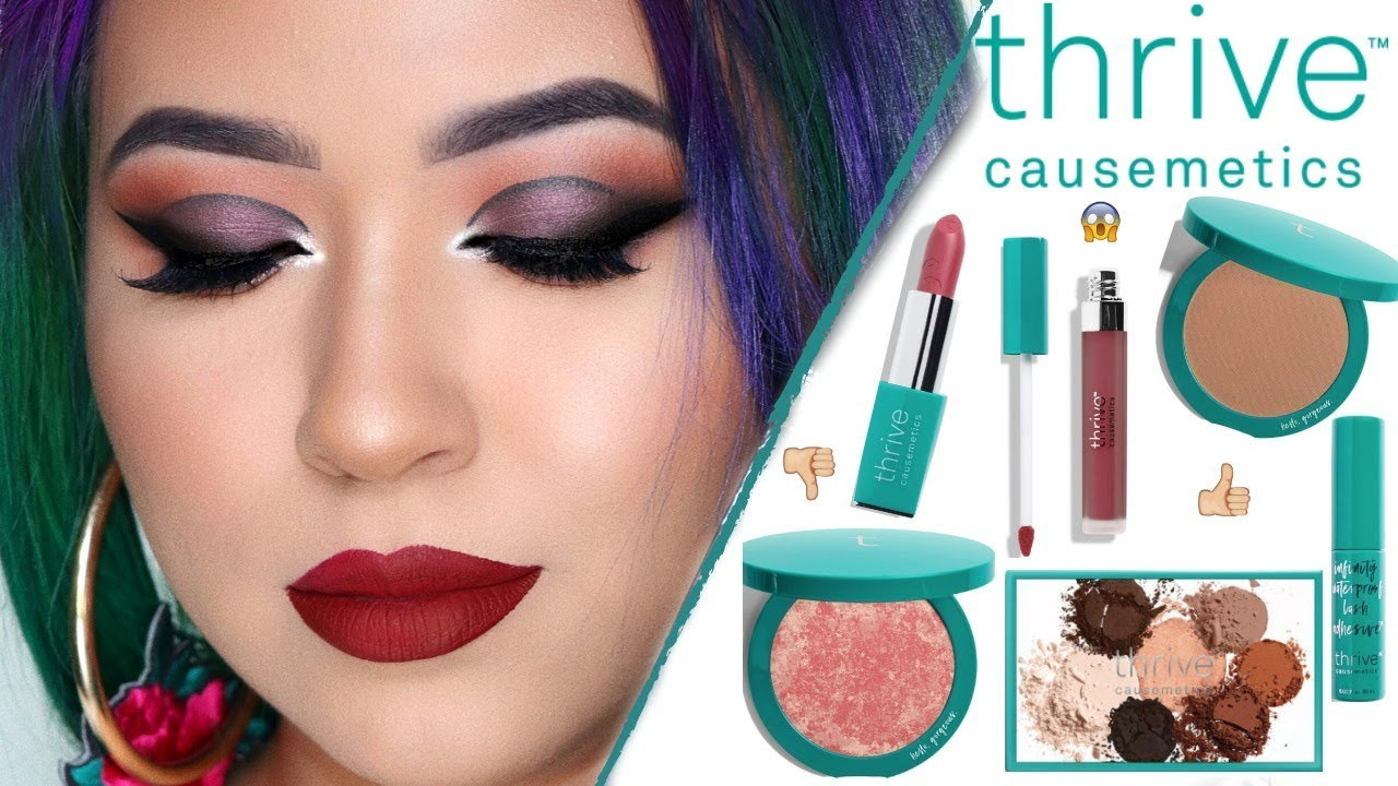f1c0ebbb053 BEAUTY WITH A PURPOSE | Giving Back To WOMEN | Thrive Causemetics |  Yurigmakeup. Yurig Makeup