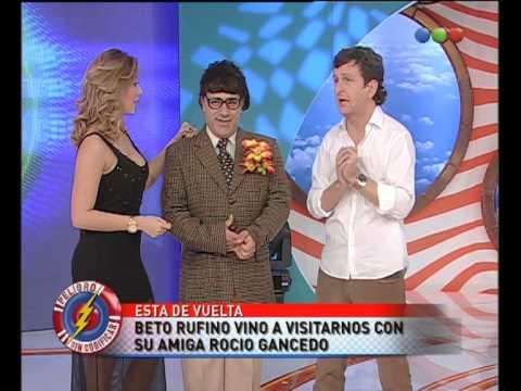 Beto Rufino con su novia Rocío Gancedo  Peligro Sin Codificar
