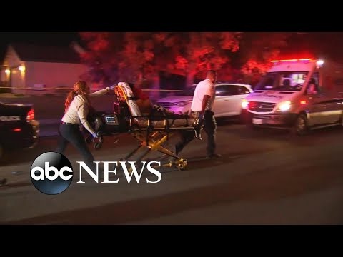 Gunman opens fire on family's football watch party in California l ABC News