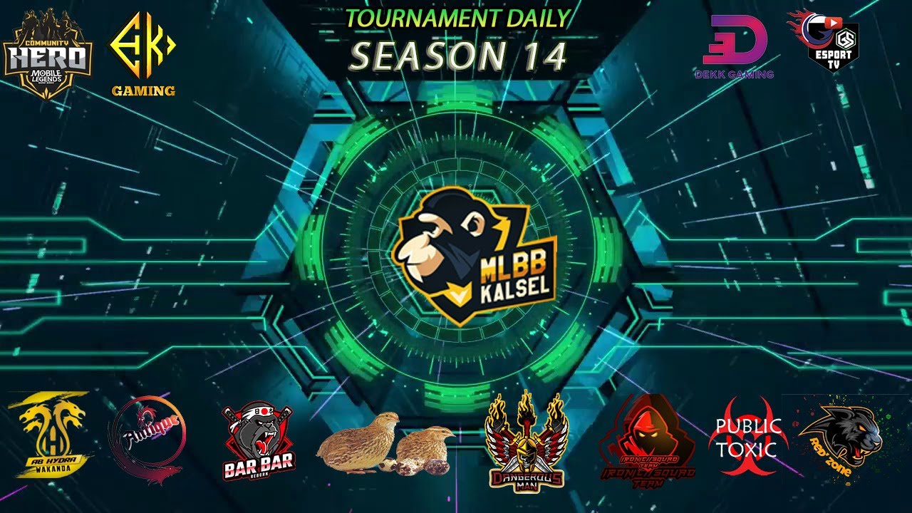 DAILY TOURNAMENT MLBB KALSEL | 14