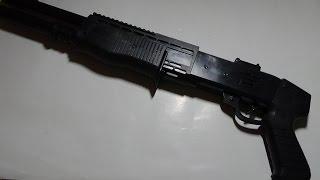 Обзор игрушек. Air soft gun ES-330.Помповое ружье.