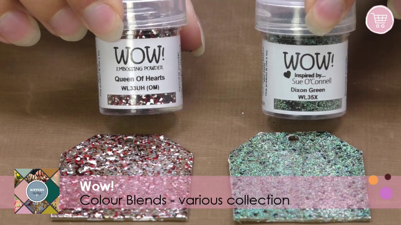 Clear by Wow Embossing Powder Wow Embossing Powder WV02 Ultra Slow Drying Ink Pad
