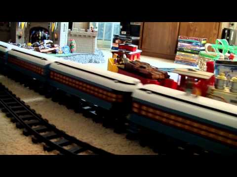 Model Railroad Track Plans Rail Laying Design And Planning- Hogwarts Express & Polar Express G Gauge RC Trains by Lionel