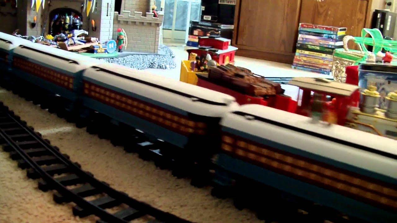 Polar Express Christmas Tree Train Set