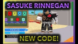 [NEW CODE!] SPINNING FOR SASUKE RINNEGAN!|[055] UPDATE SASUKE RINNEGAN OP?|ROBLOX NRPG- Beyond |