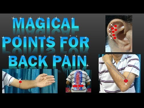 Instant Back Pain Relief – Acupressure Points For Back Pain Relief (In Hindi With English Subtitles)