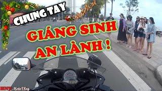 MotoVlog VietNam | Nha Trang 22 - [NOEL] CHÚC MỌI NGƯỜI GIÁNG SINH AN LÀNH -CBR150