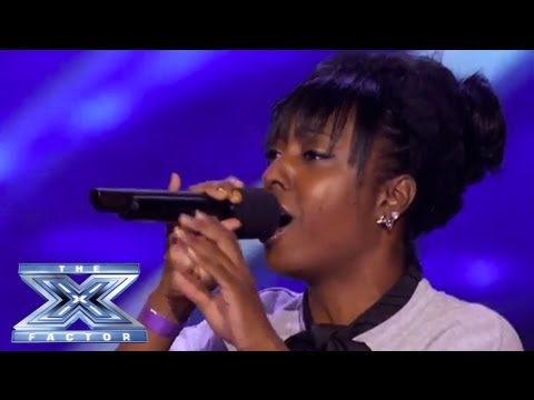 Ashly Williams Emotial I Will Always Love You Prompts Tears  THE X FACTOR USA 2013