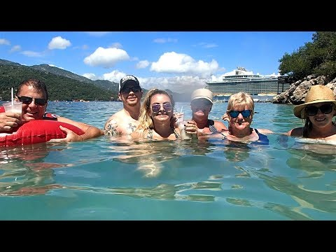 Royal Caribbean Cruise 2017 St. Maarten, Puerto Rico, Labadee Haiti