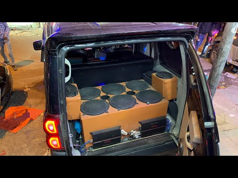 Installed 6 Woofers Inside Mahindra Scorpio | Mahindra Scorpio Audio Upgraded