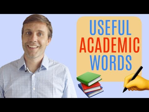 25 USEFUL ACADEMIC WORDS YOU SHOULD KNOW