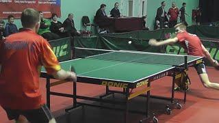 Evgeniy DRYINDIN - Anton ANISIMOV Настольный теннис, Table Tennis