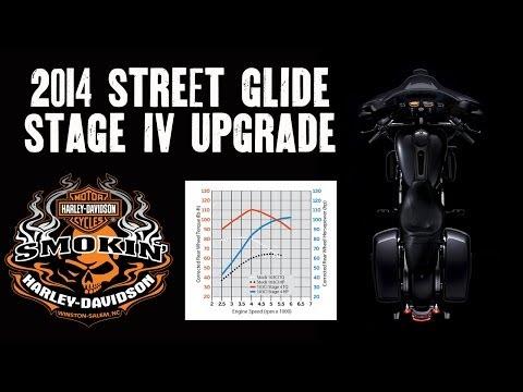 2014 Street Glide Stock vs. Stage IV Engine Upgrade
