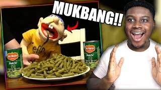 JEFFY FINALLY EATS HIS GREEN BEANS! | SML Movie: Jeffy's Commercial Reaction!