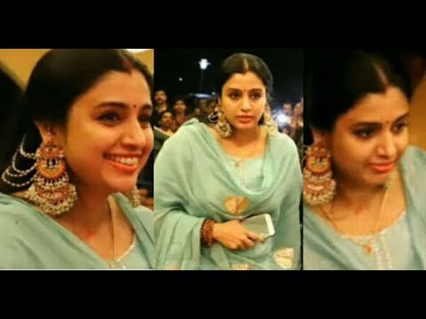 Samyuktha Varma Bahubali Look In Actress Bhavana Marriage Reception
