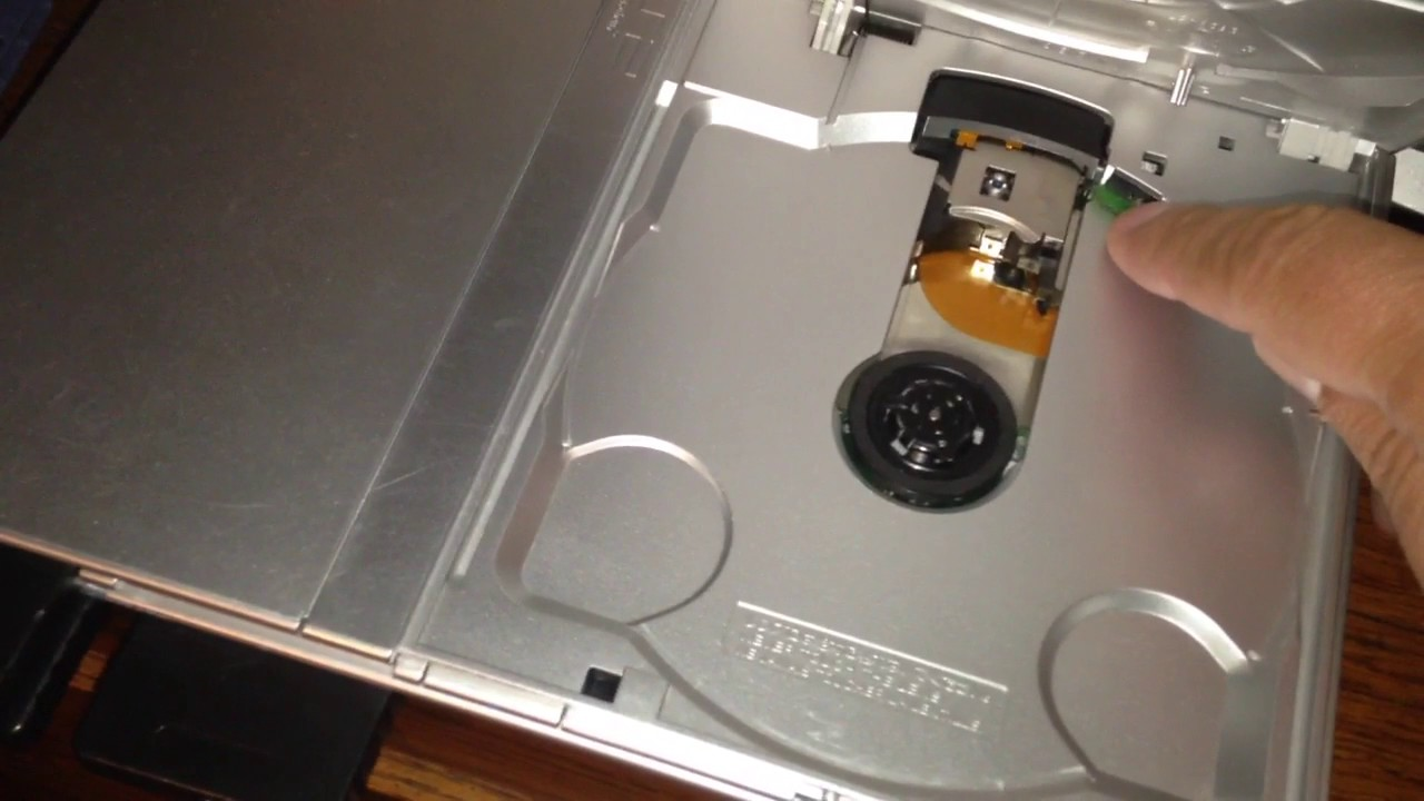 PS-2 Slim model fix for discs not reading