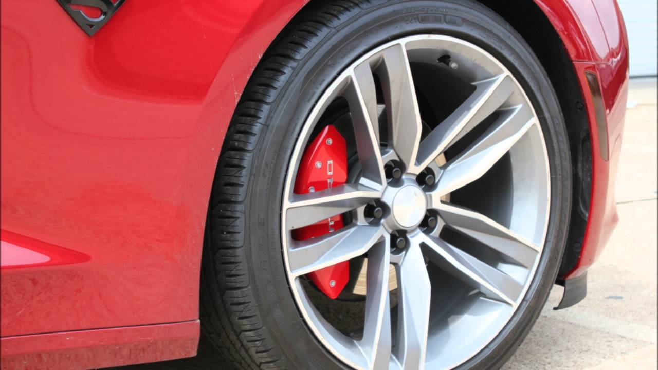 Mgp Camaro V6 Caliper Cover Installation Phastek Performance