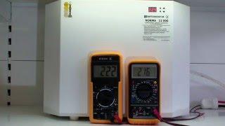 Стабилизатор напряжения Укртехнология НСН Norma 12000, симисторный, обзор