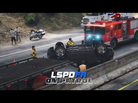 LSPDFR - Day 445 - Rollover Accident