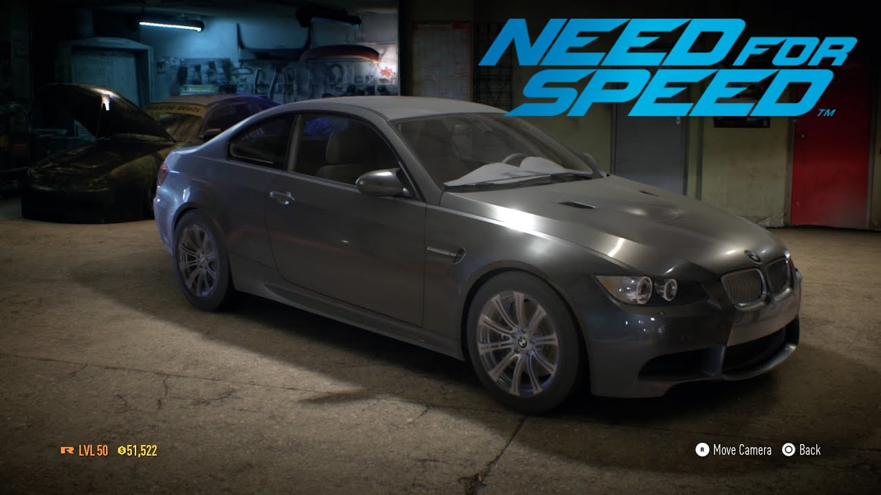 Need For Speed Bmw M3 E92 2010 Stock Youtube