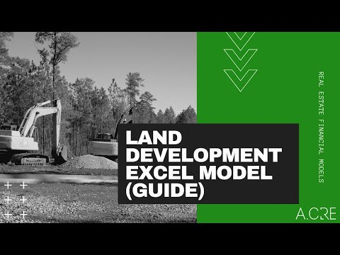 Basic Residential Land Development Excel Model