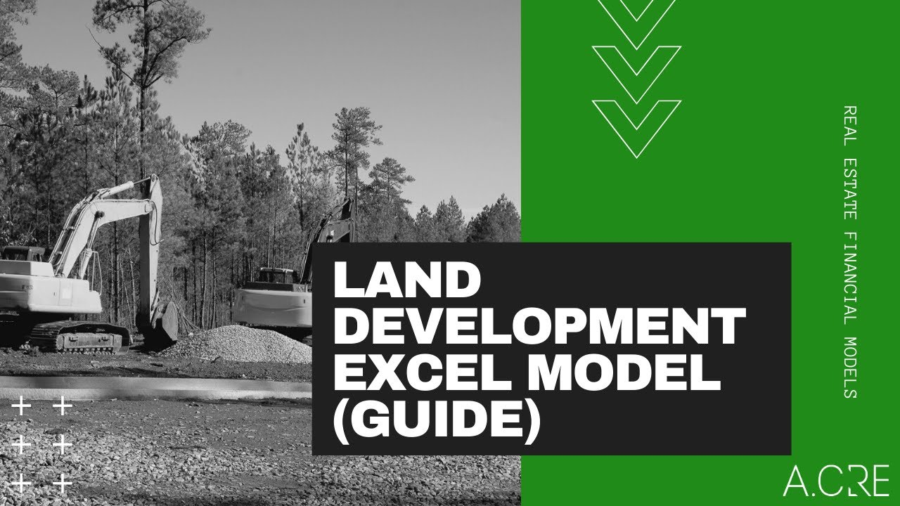Residential Land Development Pro Forma in Excel - Adventures ...