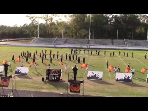 Jeff Davis High School Marching Band Show 2016