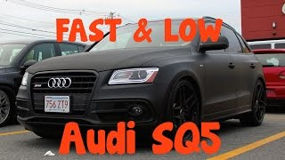 fineTUNED: Low and FAST APR tuned Audi SQ5 (Stage 2+)!