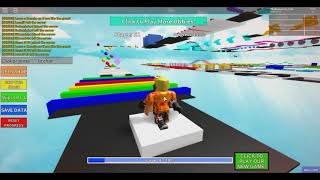 Roblox Mega Fun Obby Race | OH THOSE FAILS!!!! (1)