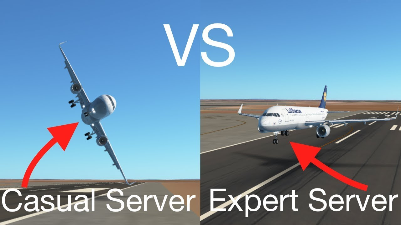 Casual Server VS Expert Server – Infinite Flight | FlightSim