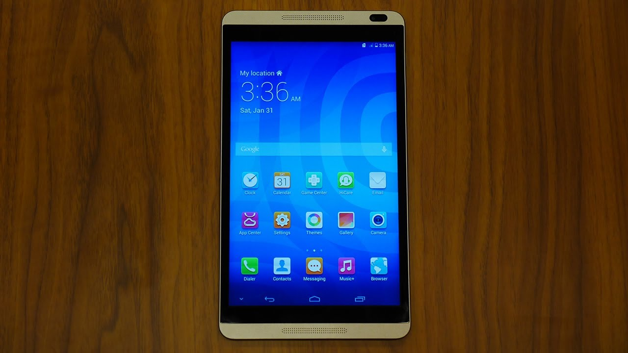 Huawei Mediapad M1 First Look And Hands On Mwc 2014