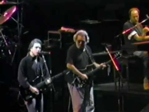 Grateful Dead 1990 9 19 Madison Square Garden Ny Set 2 End Youtube