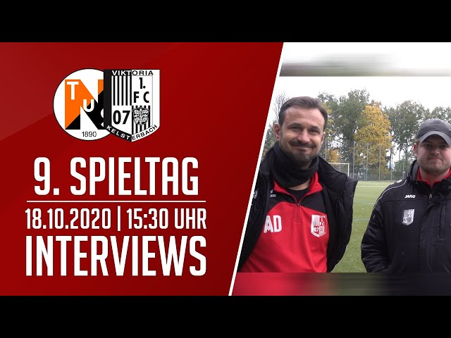 TuS Niederjosbach - Viktoria Kelsterbach | Interviews | 18.10.2020