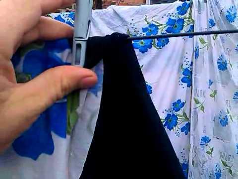 Как правильно вешать бельё, что бы оно быстрее высохло?