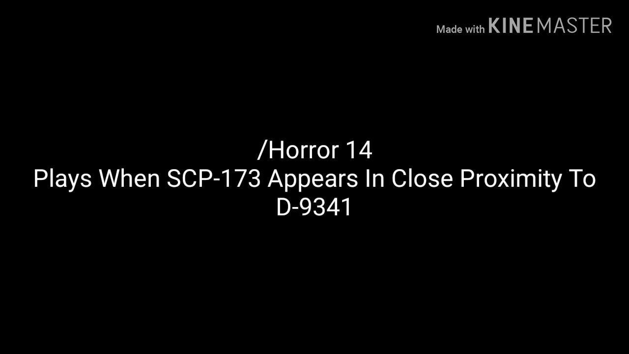 Horror 14 Sound Scp 173 Sound Effect Youtube