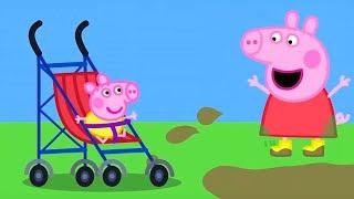 Свинка Пеппа на русском все серии подряд | Первое Слово Малыша Александра | Мультики