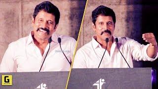 Hero'stha Lateuh Varuvanga Ana Inga!! - Vikram Funny Speech | Saamy Square Audio Launch | Hari