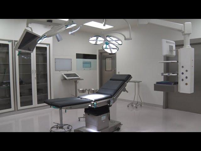 Bilik pembedahan siap dalam masa seminggu