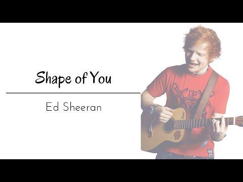 Shape Of You By Ed Sheeran Lyrics
