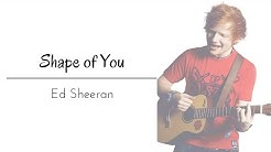Shape of You by Ed Sheeran Lyrics