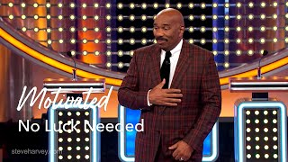 No Luck Needed | Motivational Talks With Steve Harvey
