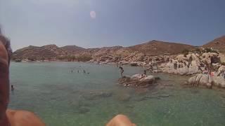 Στις κολυμπήθρες της Πάρου