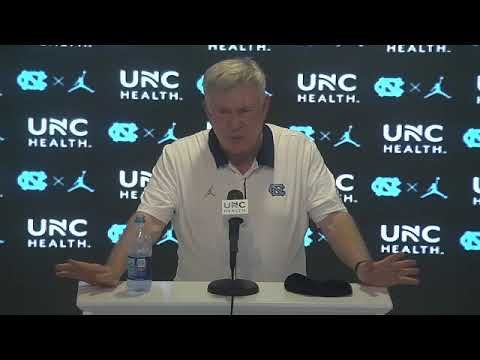 Video: Mack Brown Post-Syracuse Press Conference