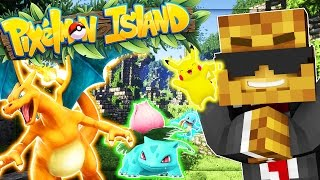 Minecraft Pixelmon Island - Pokemon GO MOD