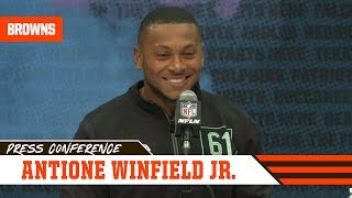 Antoine Winfield Jr.: I can play anywhere   2020 NFL Combine