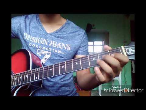 Aaganai bhari - Guitar lesson (Népathya) - YouTube