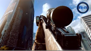 BATTLEFIELD 4 - SNIPER Multiplayer Gameplay! ALL BF4 BETA SNIPERS! (1080p HD PC)