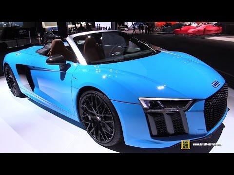2018 audi r8 v10 exterior and interior walkaround 2 doovi. Black Bedroom Furniture Sets. Home Design Ideas